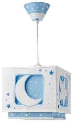 muy buena Dalber 63235TL - Lámpara para habitación infantil, diseño de luna en color azul Encuentra más en http://www.cunas-para-bebes.net/tienda/producto/dalber-63235tl-lampara-para-habitacion-infantil-diseno-de-luna-en-color-azul/