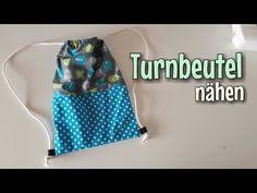 Turnbeutel - Nähanleitung - OHNE Schnittmuster - Anfänger - Nähtinchen - YouTube