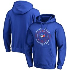 Toronto Blue Jays Firefighter Pullover Hoodie - Royal