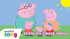 Finger Family | Peppa Pig Finger Family | Nursery Rhymes For Children