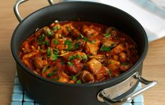 Try our easy pork and pepper goulash recipe. Smoked sweet paprika brings out the flavour of this delicious pork goulash. Pair with a lightly spiced wine to cut through the creaminess Pork Goulash, Pork Stew, Pork Recipes, Healthy Recipes, Gammon Recipes, Savoury Recipes, Keto Recipes, Cheap Family Meals, Salads