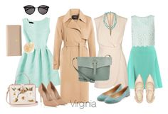 """""""Virginia"""" by begopuig on Polyvore featuring moda, Roland Mouret, Finders Keepers, Accessorize, Theory, Yves Saint Laurent, Chloé, Meli Melo, Miss Selfridge y Lipsy"""