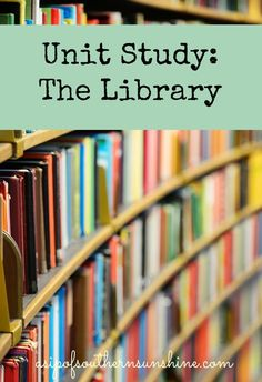 This library unit study gives you loads of tips for hands on activities, books to read about libraries, and resources teach your child about them. Got Books, Books To Read, Cheap Books, Important Life Lessons, Get Free Stuff, Library Lessons, How To Get, How To Plan, Life Skills