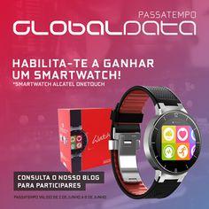 Amostras e Passatempos: Passatempo Smartwatch Alcatel OneTouch by Globalda...