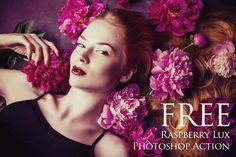 Raspberry Lux Photoshop Action: FREE