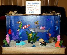 Shark diorama
