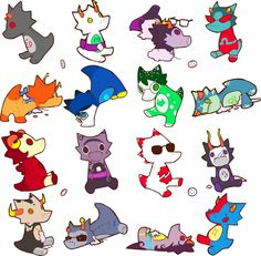 All the patron trolls and humans as scalemates, cute! Aradia, Kawaii, Nerdy, Anime, Fandoms, Fan Art, Concept, Cool Stuff, How To Make