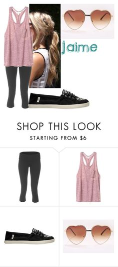 """Untitled #321"" by flashinglights-397 on Polyvore featuring Alo Yoga, Victoria's Secret, Vans, women's clothing, women's fashion, women, female, woman, misses and juniors"
