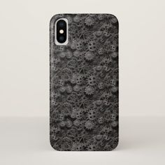 Many old rusty metal gears or machine parts iPhone x case - metal style gift ideas unique diy personalize