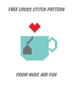 Free Pattern Friday - Tea Love from Hugs are Fun