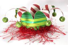 Elf hat Elf christmas crown Elf fascinator by partydreams on Etsy, $15.00