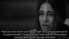 depressing crying gifs | gif love girl quote life tumblr depressed depression sad lonely pain ...