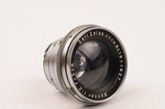 Contax RF Jena Carl Zeiss Sonnar 50mm F2 Lens Adapt TO NEX M4 3 Leica M | eBay