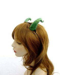 Hey, I found this really awesome Etsy listing at https://www.etsy.com/listing/163128509/green-dragon-horns-green-demon-horns