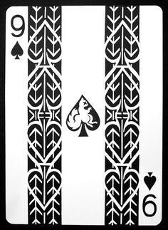 Hand-Cut Playing Cards by Emmanuel Jose