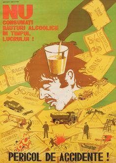 21 dintre cele mai amuzante afișe comuniste din România lui Ceaușescu - VICE Trollface Quest, Communist Propaganda, History Posters, Troll Face, Central And Eastern Europe, East Germany, Vintage Travel Posters, Alien Logo, Socialism