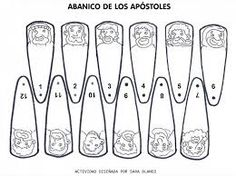 Abanico de 12 apostoles - Buscar con Google