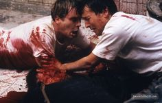 Saw (2004) Cary Elwes and Leigh Whannell