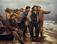 Michael Peter Ancher - Wird er es schaffen?