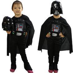 $26.73 (Buy here: https://alitems.com/g/1e8d114494ebda23ff8b16525dc3e8/?i=5&ulp=https%3A%2F%2Fwww.aliexpress.com%2Fitem%2Fboys-girls-star-wars-costume-set-children-jumpsuit-cloak-mask-helmet-black-kids-halloween-darth-wader%2F32729709602.html ) boys girls star wars costume set children jumpsuit cloak mask helmet black kids halloween darth wader cosplay clothes suit FG040 for just $26.73