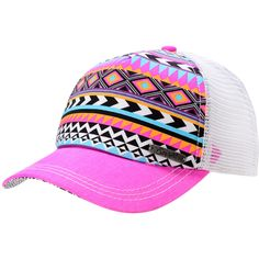 Empyre Girls Tribal Pink Trucker Snap Back Hat at Zumiez : PDP