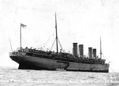 But this was no ordinary liner anymore. At the outbreak of war in Europe in August 1914, the German Navy pressed Kronprinz Wilhelm into wartime service as an auxiliary cruiser. Its mission: sink Allied merchant shipping. And sink Allied merchant shipping it did: some 60,000 tons over a 251-day, 37,666 mile cruise. By April 1915, though, the ship's luck, and coal, were running out. With British warships closing in, Kronprinz Wilhelm made for the closest neutral port-Hampton Roads-1915