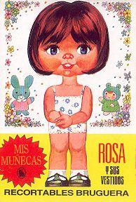 Recortables  Recortables.....lo más Vintage Paper Dolls, Antique Dolls, Vintage Toys, Art Poses, Childhood Memories, Fun Crafts, Nostalgia, Collection, Children