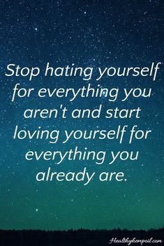 You should go and love yourself! :) #motivation #inspiration #selfcare