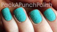 Review & Tutorial: Born Pretty Store Flocking Powder Nail Art