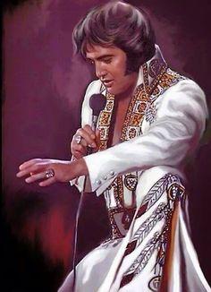 Elvis Presley Art potrait paintings from Graceland Elvis Presley Born, Elvis Presley Pictures, James Dean, Elvis Memorabilia, Lisa Marie Presley, Rhythm And Blues, Graceland, John Lennon, Rock And Roll