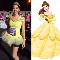 Belle running costume