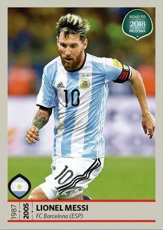 Camino al mundial de Rusia 2018 - Lionel Messi- Argentina