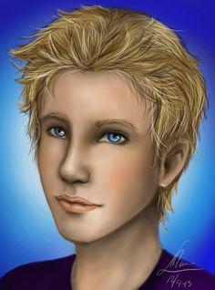 Jason Grace by *MonsieArts on deviantART He kinda looks like a girl O_O