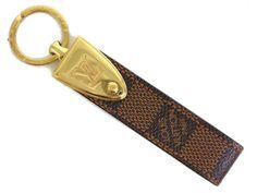#LouisVuitton Porte Cles Dragon Key Holder Damier/Metal Eb M66354(BF056736) - Now: $144