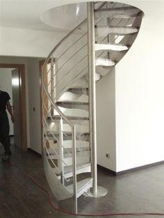 Escalera de caracol diable de maydisa - Modelos de escaleras de caracol para interiores ...