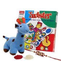 Fun Twister Rakhi Combo International - Rakhi To Dubai