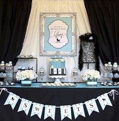 One of my favorite baby showers I ever styled (with Vivian Kerr).  #favoritethingsgiveaway