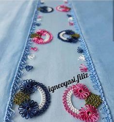 @bilgeninellerinden 👈 #nazarboncugu #igneoyasimodelleri #sunum #elemeği #göznuru #ceyizlik #havlu #mutfakhavlusu #namazörtüsü #tülbent… Needle Tatting, Washer Necklace, Needlework, Elsa, Pink, Jewelry, Silk Ribbon Embroidery, Hair Bows, Ribbons
