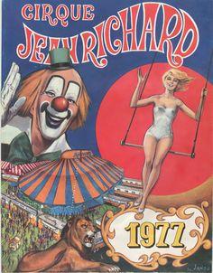 Circus collection: Cirque Jean-Richard 1977