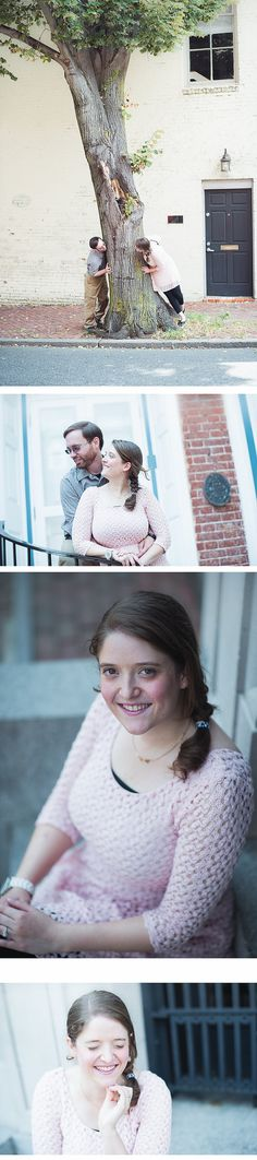 Old Town Alexandria, Virginia Engagement Session, Northern Virginia Wedding, Couple Photographer- Emily and Joel