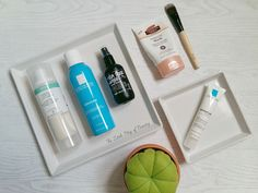 Blemish fighting skincare