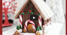 DIY Chocolate Christmas House - fabulous video from MyCupcakeAddiction Youtube channel.