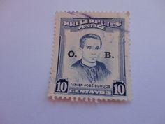 10 Father Jose Burgos Philippines postage Stamp