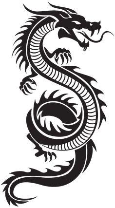 Dragon Tattoo Drawing, Red Dragon Tattoo, Tribal Dragon Tattoos, Small Dragon Tattoos, Chinese Dragon Tattoos, Dragon Tattoo Designs, Tattoo Drawings, Chinese Dragon Drawing, Small Tattoos