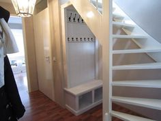 Staircase Storage, Stair Storage, Basement House, House Stairs, Open Trap, Living Place, House Entrance, Under Stairs, Home Hacks