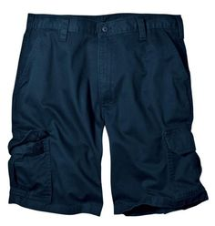 Dickies Men's 10-Inch Loose Fit Cargo Short, Dark Navy, 34