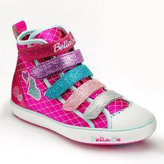 Skechers Bella Ballerina Curtsies 5 Class High-Top Sneakers - Girls