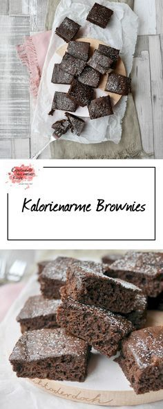 Kalorienarme Brownies   Backen   Kuchen   Rezept   Weight Watchers