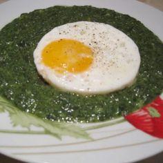 Spenót á la nagymama | Nosalty Eggs, Breakfast, Food, Morning Coffee, Essen, Egg, Meals, Yemek, Egg As Food