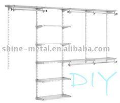 Full adjustable wire shelves